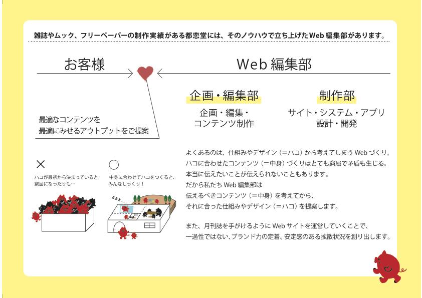 都恋堂Web編集部サービスの御案内20140930(ドラッグされました) 1